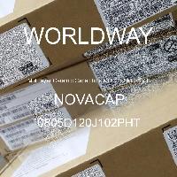 0805D120J102PHT - NOVACAP - Multilayer Ceramic Capacitors MLCC - SMD/SMT
