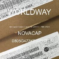 0805G473K250PHT - NOVACAP - Multilayer Ceramic Capacitors MLCC - SMD/SMT