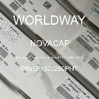 0805F152J250PHT - NOVACAP - Multilayer Ceramic Capacitors MLCC - SMD/SMT