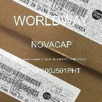 0805F100J501PHT - NOVACAP - Multilayer Ceramic Capacitors MLCC - SMD/SMT