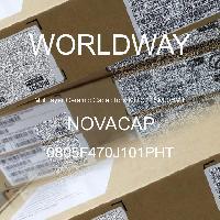 0805F470J101PHT - NOVACAP - Multilayer Ceramic Capacitors MLCC - SMD/SMT
