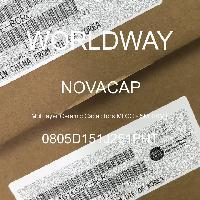 0805D151J251PHT - NOVACAP - Multilayer Ceramic Capacitors MLCC - SMD/SMT