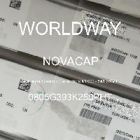 0805G393K250PHT - NOVACAP - Multilayer Ceramic Capacitors MLCC - SMD/SMT
