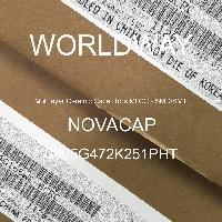 0805G472K251PHT - NOVACAP - Multilayer Ceramic Capacitors MLCC - SMD/SMT