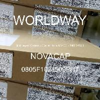 0805F102J500PHT - NOVACAP - Multilayer Ceramic Capacitors MLCC - SMD/SMT