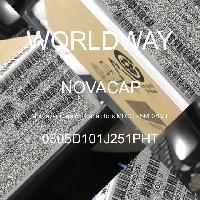 0805D101J251PHT - NOVACAP - Multilayer Ceramic Capacitors MLCC - SMD/SMT