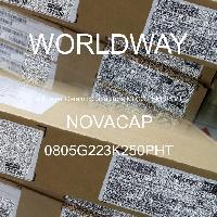 0805G223K250PHT - NOVACAP - Multilayer Ceramic Capacitors MLCC - SMD/SMT