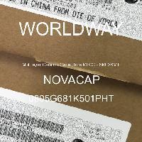 0805G681K501PHT - NOVACAP - Multilayer Ceramic Capacitors MLCC - SMD/SMT