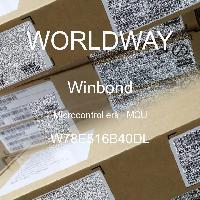 W78E516B40DL - Nuvoton Technology Corp - Microcontrollers - MCU
