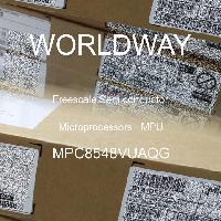 MPC8548VUAQG - NXP Semiconductors - マイクロプロセッサー-MPU