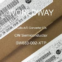 0W633-002-XTP - ON Semiconductor - Circuitos integrados de convertidor de audio