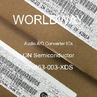 0W653-003-XDS - ON Semiconductor - Circuitos integrados de convertidor de audio