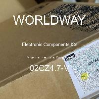 02CZ4.7-V - Panasonic Electronic Components - CIs de componentes eletrônicos