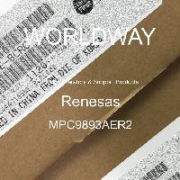 MPC9893AER2 - Renesas Electronics Corporation - クロックジェネレーターとサポート製品