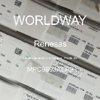 MPC9893AER2 - Renesas Electronics Corporation - 클럭 발생기 및 지원 제품