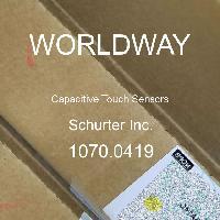 1070.0419 - Schurter - Capteurs tactiles capacitifs