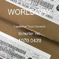 1070.0429 - Schurter - Capteurs tactiles capacitifs