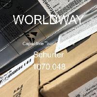 1070.048 - Schurter - Capteurs tactiles capacitifs