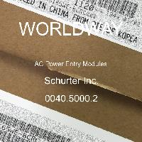 0040.5000.2 - Schurter - Modules d'entrée d'alimentation CA