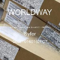 0603Y0160152FCT - Syfer - Kapasitor Keramik Multilayer MLCC - SMD / SMT