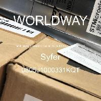 0805J1000331KQT - Syfer - 다층 세라믹 커패시터 MLCC-SMD / SMT