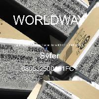 0805J2500151FCT - Syfer - Mehrschichtkeramikkondensatoren MLCC - SMD /
