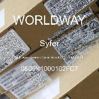 0805Y1000102FCT - Syfer - Kapasitor Keramik Multilayer MLCC - SMD / SMT