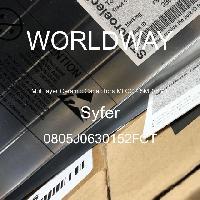 0805J0630152FCT - Syfer - 다층 세라믹 커패시터 MLCC-SMD / SMT