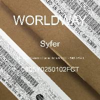 0805Y0250102FCT - Syfer - Capacitores cerámicos de capas múltiples (MLC
