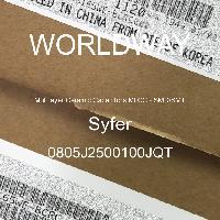 0805J2500100JQT - Syfer - Mehrschichtkeramikkondensatoren MLCC - SMD /