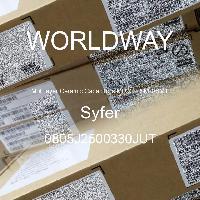 0805J2500330JUT - Syfer - Multilayer Ceramic Capacitors MLCC - SMD/SMT