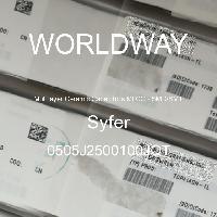 0505J2500100JQT - Syfer - Multilayer Ceramic Capacitors MLCC - SMD/SMT
