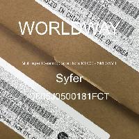 0805J0500181FCT - Syfer - Multilayer Ceramic Capacitors MLCC - SMD/SMT