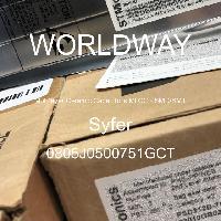 0805J0500751GCT - Syfer - Multilayer Ceramic Capacitors MLCC - SMD/SMT