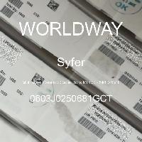 0603J0250681GCT - Syfer - Multilayer Ceramic Capacitors MLCC - SMD/SMT