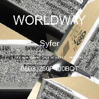 0603J250P400BQT - Syfer - Multilayer Ceramic Capacitors MLCC - SMD/SMT