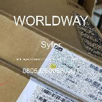 0805J2500680JUT - Syfer - Multilayer Ceramic Capacitors MLCC - SMD/SMT