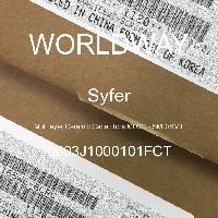 0603J1000101FCT - Syfer - Multilayer Ceramic Capacitors MLCC - SMD/SMT