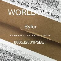 0805J2501P5BUT - Syfer - Multilayer Ceramic Capacitors MLCC - SMD/SMT