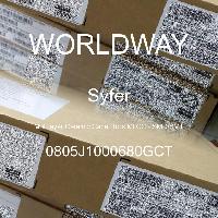 0805J1000680GCT - Syfer - Multilayer Ceramic Capacitors MLCC - SMD/SMT