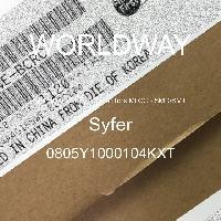 0805Y1000104KXT - Syfer - Multilayer Ceramic Capacitors MLCC - SMD/SMT