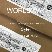 0805J1004P70CCT - Syfer - Multilayer Ceramic Capacitors MLCC - SMD/SMT