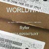 0603J0250473JXT - Syfer - Multilayer Ceramic Capacitors MLCC - SMD/SMT