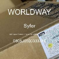 0805J0500333JXT - Syfer - Multilayer Ceramic Capacitors MLCC - SMD/SMT