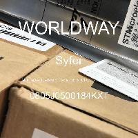0805J0500184KXT - Syfer - Multilayer Ceramic Capacitors MLCC - SMD/SMT