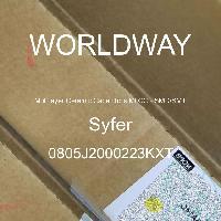 0805J2000223KXT - Syfer - Multilayer Ceramic Capacitors MLCC - SMD/SMT