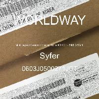 0603J0500271JCT - Syfer - Multilayer Ceramic Capacitors MLCC - SMD/SMT