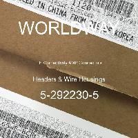 5-292230-5 - TE Connectivity AMP Connectors - Header & Rumah Kawat