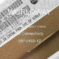 097-0165-12 - TE Connectivity - サーキュラーミル仕様コンタクト