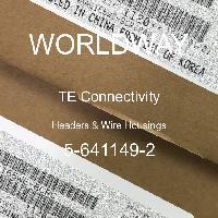 5-641149-2 - TE Connectivity - Header & Rumah Kawat